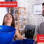Zalanie mieszkania przez sąsiada lub pralkę. Co zrobić ze swoimi rzeczami?