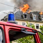 Požár domu nebo bytu.Kam uložit věci, které nebyly poškozeny?